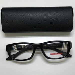 🕶️Prada VPS02E Men's Eyeglasses 617/TIZ783🕶️